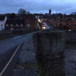 The historic town of Ludlow